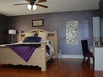 Purple King Bed Room!