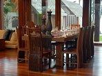 Baan Puri - Dining area design