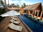 Baan Puri - Poolside relaxation