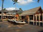 Baan Puri - Sun loungers by the pool