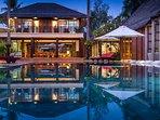 Baan Puri - Nightime setting