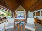 Baan Puri - Lotus beachfront suite