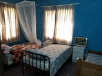 3 Single Beds Room Shared $25 per person. 2-3 person in same group then $20 per person