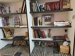 Library about Holy Land in Queen Bedroom $50 per night. Sleeps 2.