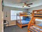 Cheaper by the half dozen, this room sleeps 6!