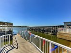Just 2 blocks away, you can rent boats and dock space at the marina.
