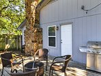You'll spend many memorable hours hanging on the porch with family and friends.