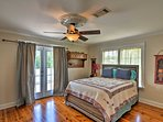 You'll find a queen bed in the second bedroom.