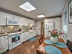 Prepare your favorite creations in the spacious and newly remodeled kitchen.