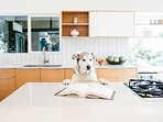 Your furry friends are more than welcome to enjoy this elegant home as well.