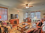 This 1,500-square-foot unit sleeps 4, and has room for 2 more for an added fee.