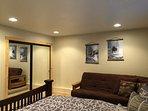 2nd floor- bedroom 2, queen