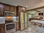 You'll love preparing home-cooked meals in the fully equipped kitchen!