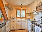 This 70's home has been perfectly updated to include modern kitchen appliances.