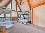 Sleep up to 6 guests in the loft!