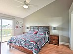 Dream of tomorrow's adventures in the Master Bedroom!