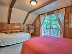 Up to 3 travelers can stay in this second bedroom.