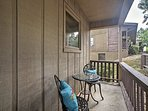The home also boasts a furnished front patio.