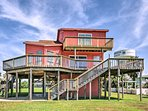 Explore the shore at this Jamaica Beach vacation rental house.