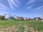 Nearby, the community park hosts a playground, picnic area and basketball court.