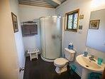 Spacious and comfortable bathroom