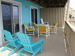 2lvl, ocean front deck (off bedrooms)