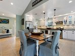 The 1,500-square-foot space can accommodate up to 6 guests.