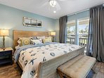 Choose from 3 bedrooms to sleep in during your stay.