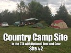 Camp Site in the GTA w/ Optional Tent / Gear - 2