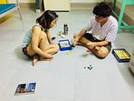 Playing card in Dorm room
