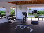 Gym on site free to guests