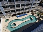 Balcony view of Lazy River