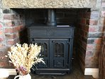 Decorative Stove in Dining Room