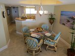 comfortable, pleasant decor