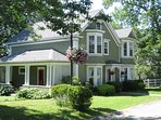 Shorewood House located in Shelburne, Nova Scotia. Sleeps 6.