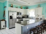 New stainless appliances (dishwasher, frig, stove & microwave) as well as granite counter tops.