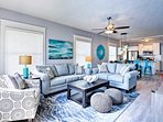 Escape to Daytona at this 3-bedroom, 2-bath vacation rental house for 10!