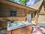 The 6BR, 3.5-bath home features a private hot tub and amenities for up to 14.