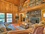 Explore the Sierra Nevadas from this Shaver Lake vacation rental cabin.