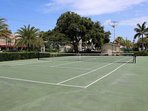 Enjoy a tennis match for fun before or after the beach or a dip in the pool.  Complex court available for your use!