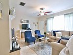 Comfortable and cozy space with large flatscreen TV, WiFi and Cable.