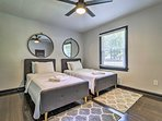 The third bedroom is ideal for friends or siblings sharing a room.