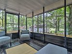 Enjoy pest-free evenings from the comfort of your screened porch.