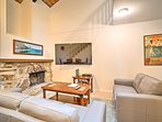 Book this spacious end-unit condo for your next trip to Tahoe City!