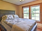 Each bedroom includes comfortable pillows and blankets.