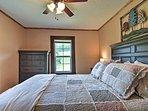 Each bedroom includes 1 queen bed.