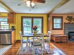 You'll have all the comforts of home just 14.5 miles from downtown Asheville!