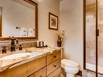 Briar Rose King ensuite bathroom with shower