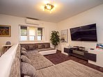 Relax in the living room with LCD TV and PS4