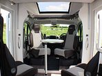 Front lounge in the Chausson Travel Line 611